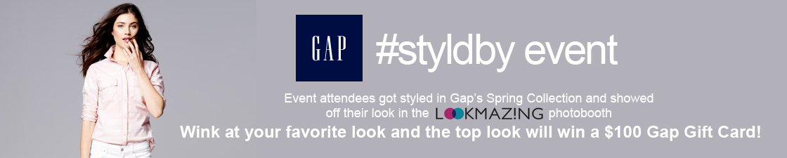 Gap Styld.By Spring Event