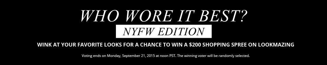 NYFW Edition WWIB $200 Giveaway